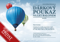 Balloon ride for two PRIVAT